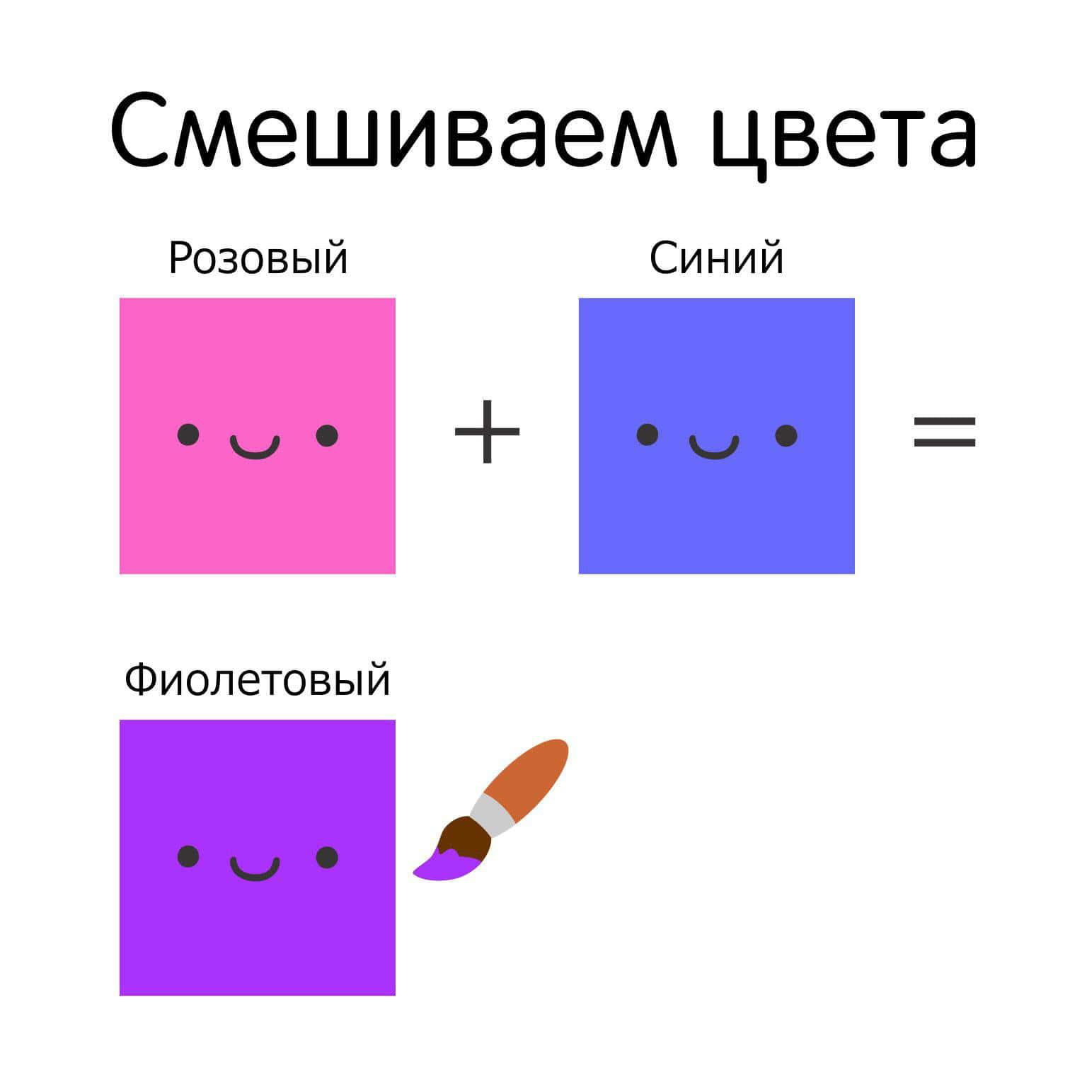 Учим цвета с ребенком 2-3 лет