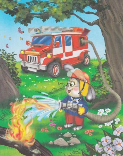 неважно сюжетная картинка пожарный качество этих работ