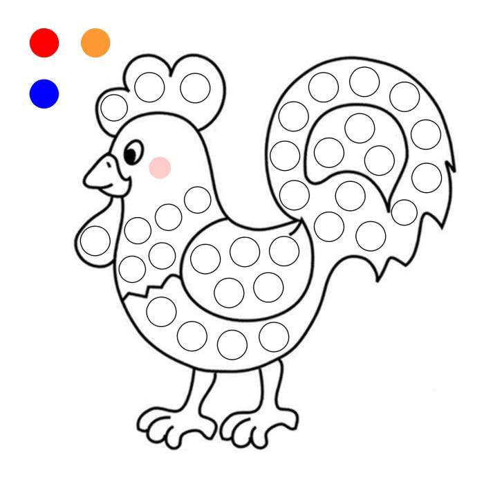 Рисование пальчиками для малышей картинки