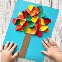 applikatsii23 Аппликация из бумаги. Идеи для детского творчества. Воспитателям детских садов, школьным учителям и педагогам