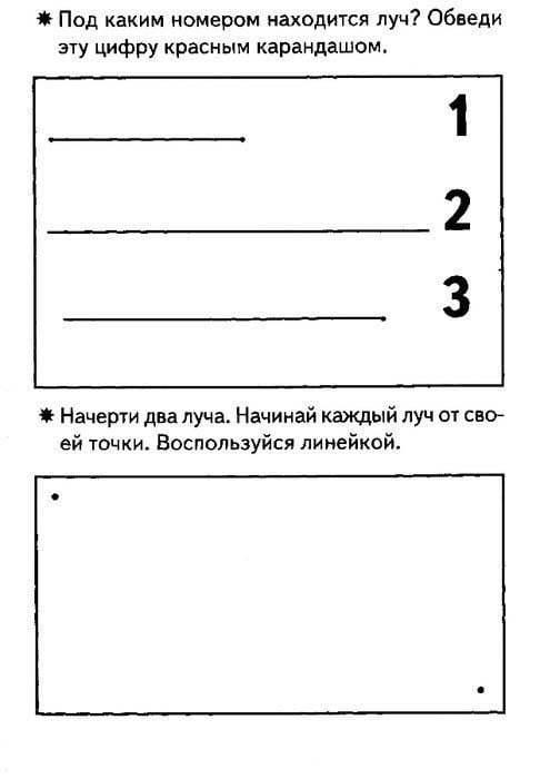 Первые уроки геометрии