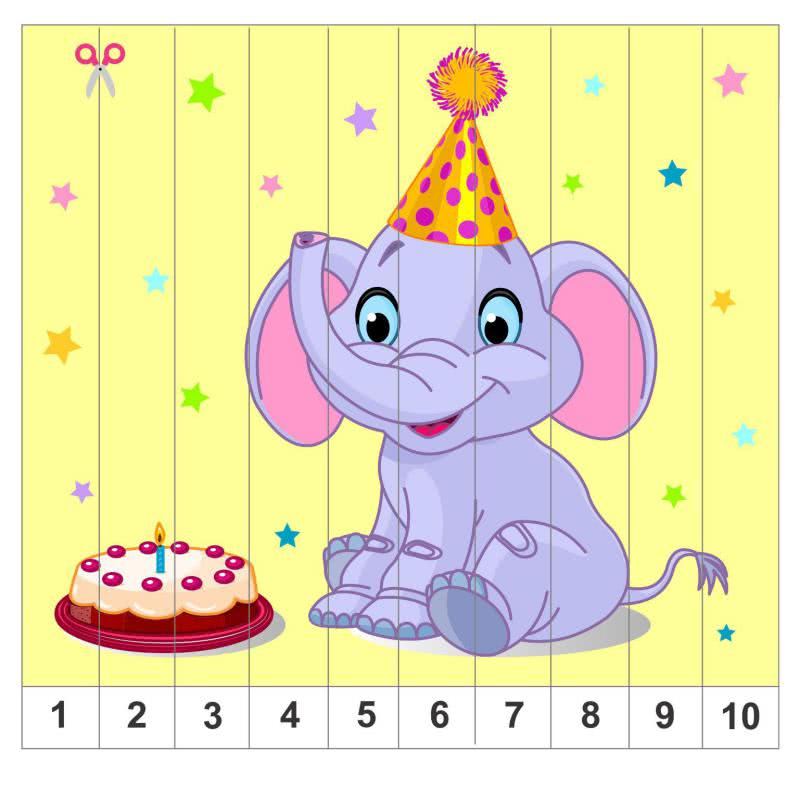 целом математические пазлы для малышей картинки понять