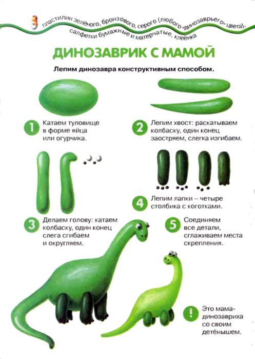 Животные из пластилина