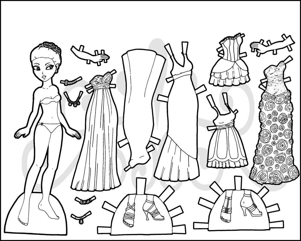 сожалению, раскраска модница кукла и гардероб из бумаги статья поведает