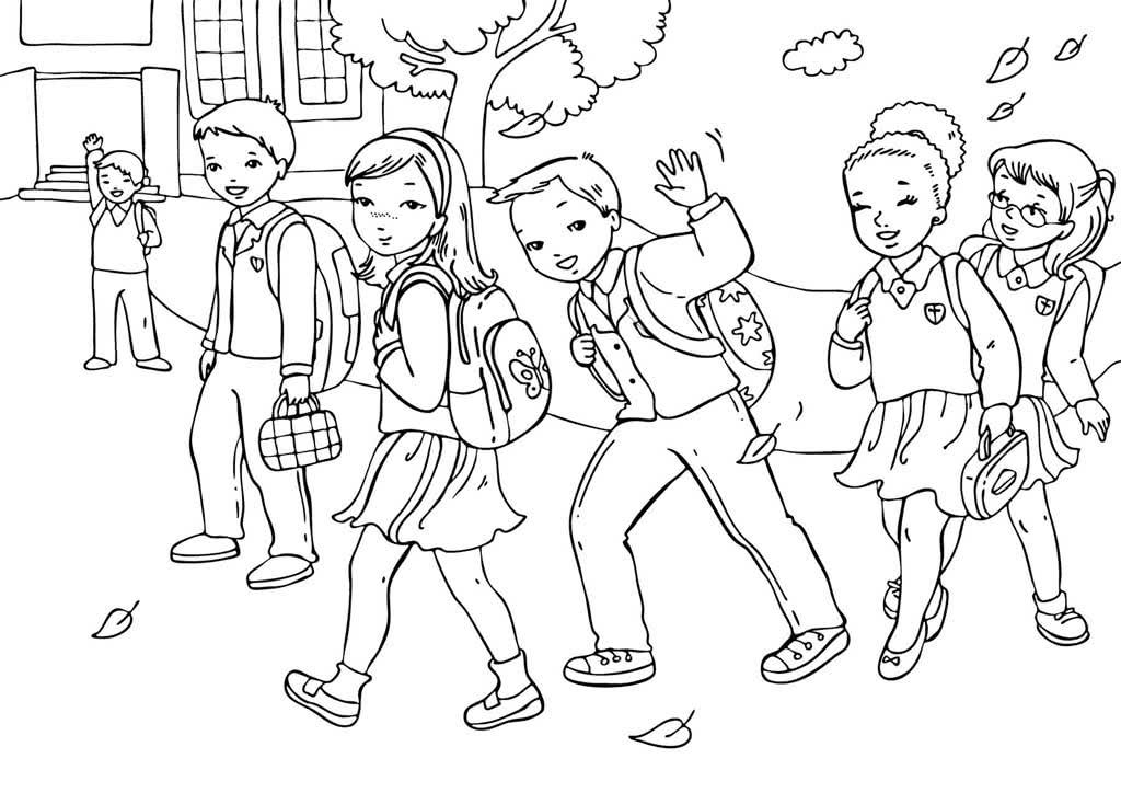 нарисовать рисунок про школу карандашом