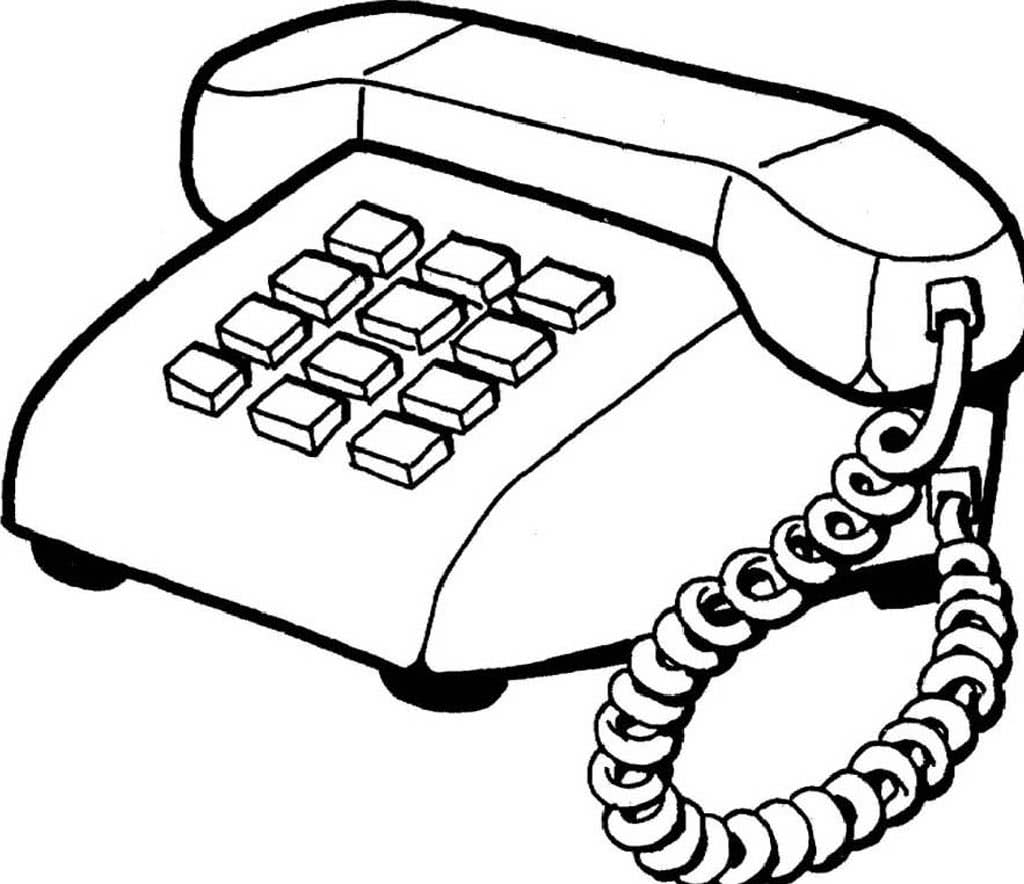 Телефоны картинки черно белые