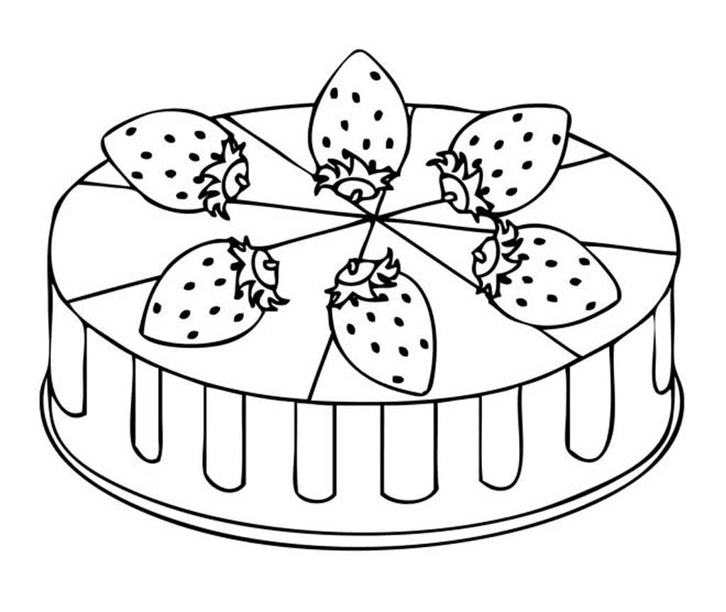 Раскраски тортики и пирожные, ночи картинки смешные