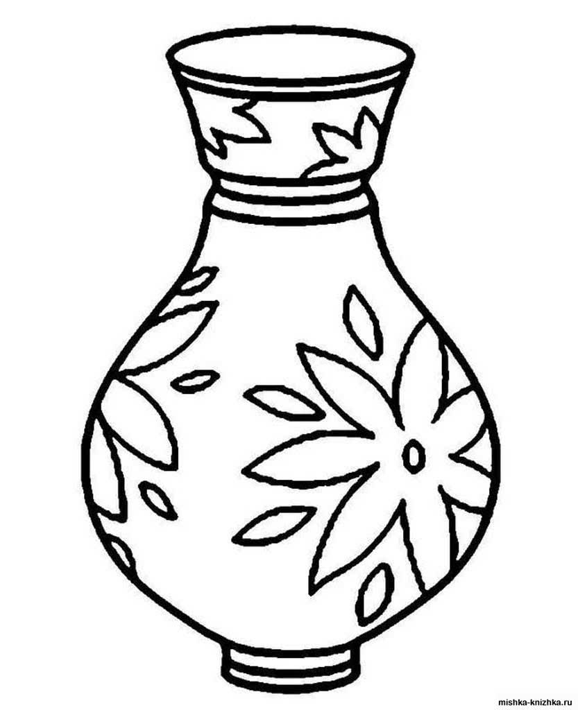 сожалению картинки черно белые для распечатки вазы знаю, мож