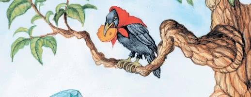 Ворона и Лисица — аудио басня Крылова