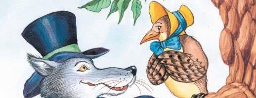 Волк и Кукушка — аудио басня Крылова