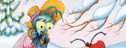 Стрекоза и Муравей — басня Крылова