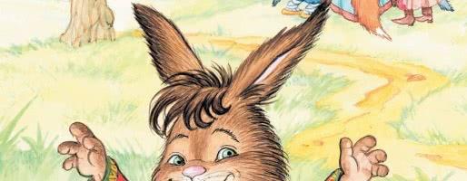 Заяц на ловле — аудио басня Крылова