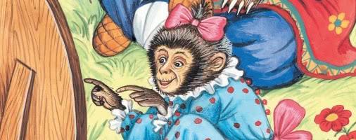 Зеркало и обезьяна — басня Крылова