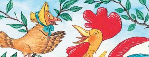 Кукушка и Петух — басня Крылова
