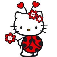 Раскраски Хелло Китти (Hello Kitty)