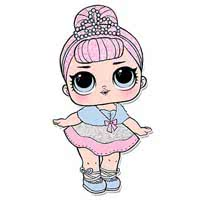 Раскраски кукол Лол (Lol)