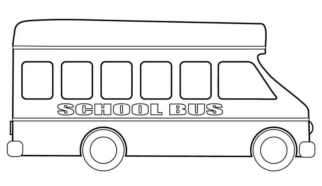 Раскраска автобусов распечатать