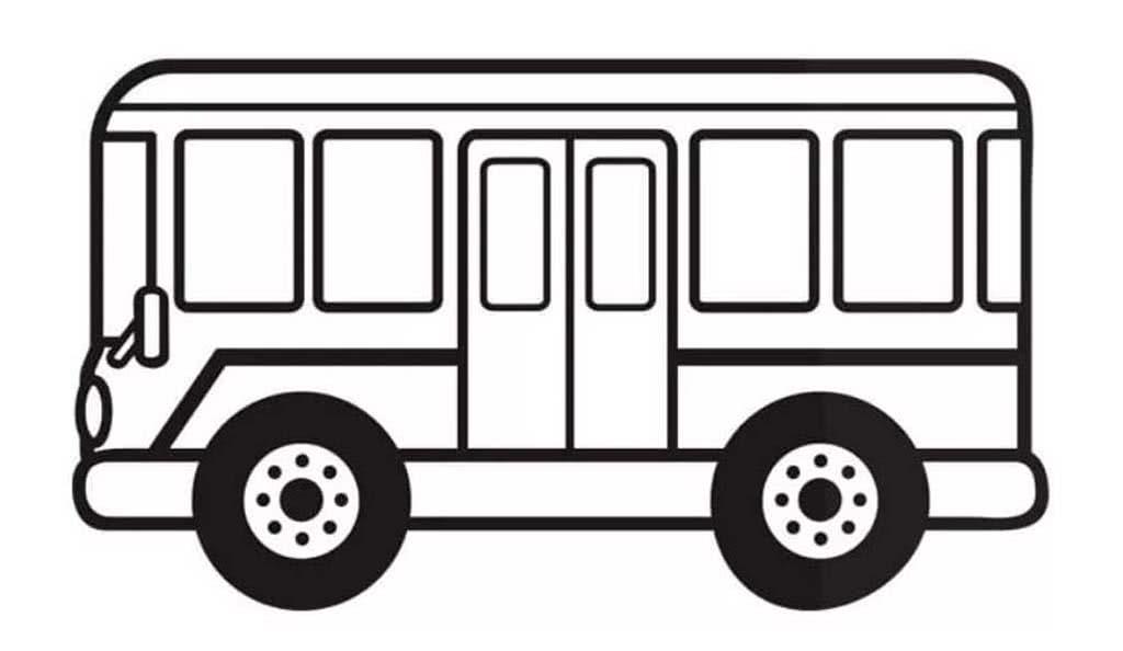 подборка картинки автобусов для раскраски часть добываемого янтаря