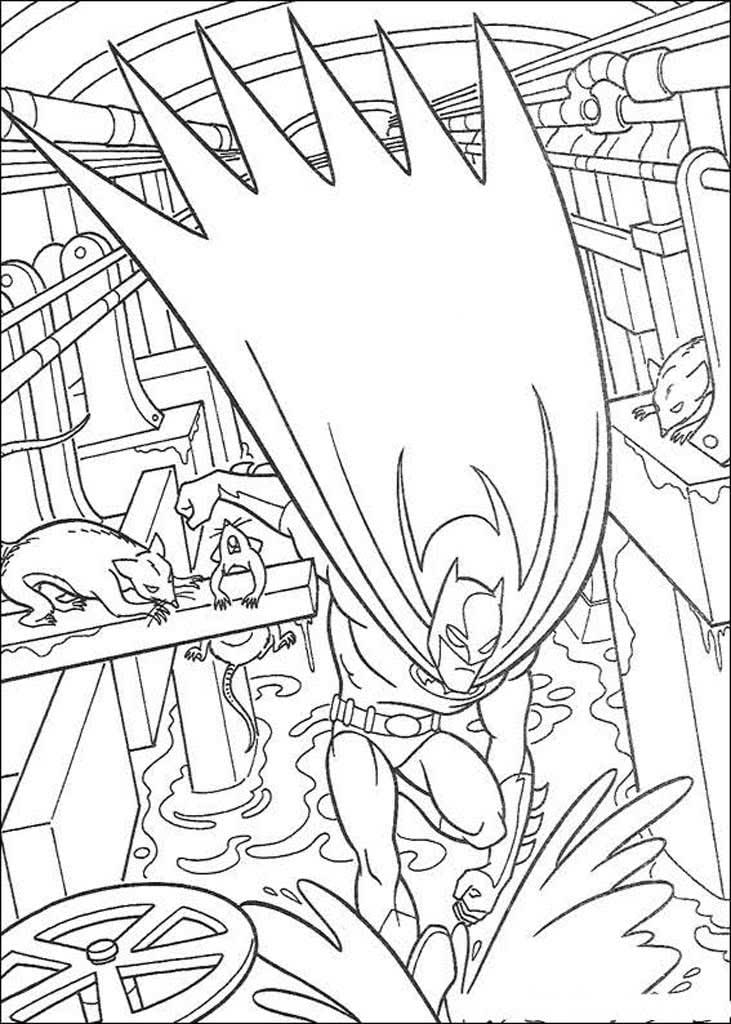 Раскраски Бэтмен (Batman)