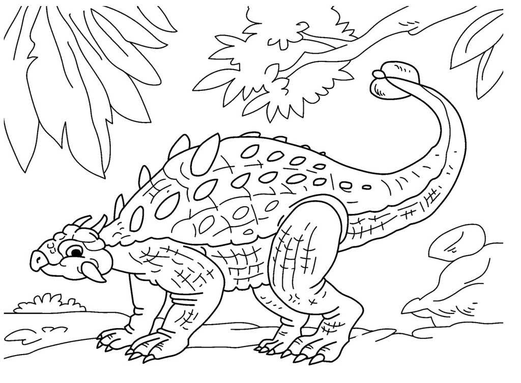 Раскраски Динозавры. Раскраски с динозаврами для детей 5 ...