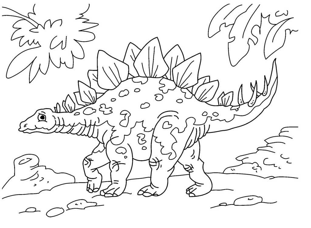 Картинки динозавров для раскрашивания