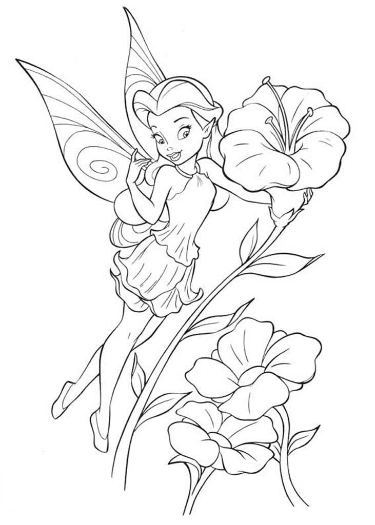 картинки раскраски с феями встречаюсь