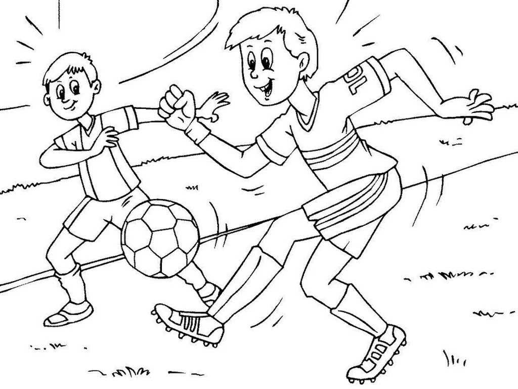 Картинки футбол для детей раскраска