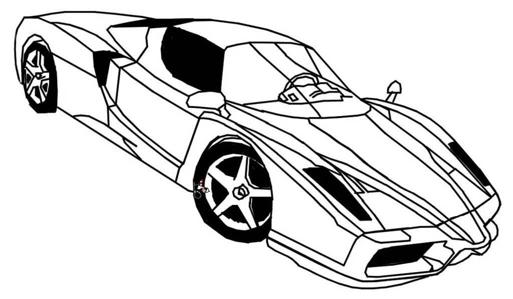 Крутые машины спортивные рисунок для мамы, картинка