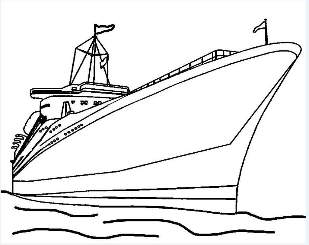 Раскраски Корабли