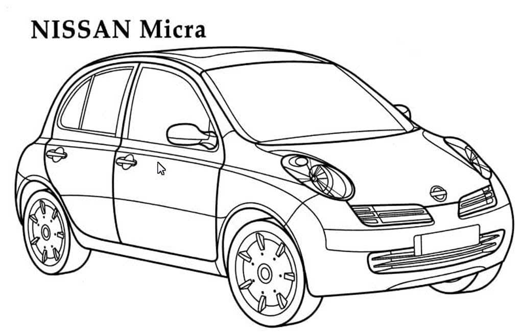 переноса раскраски легковые автомобили распечатать разобрать основные