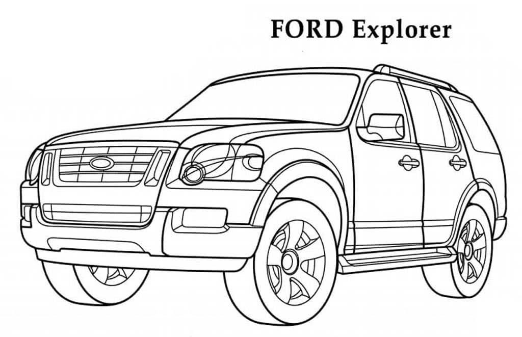 распечатать раскраски про машины форд фото мастер-класс спешу