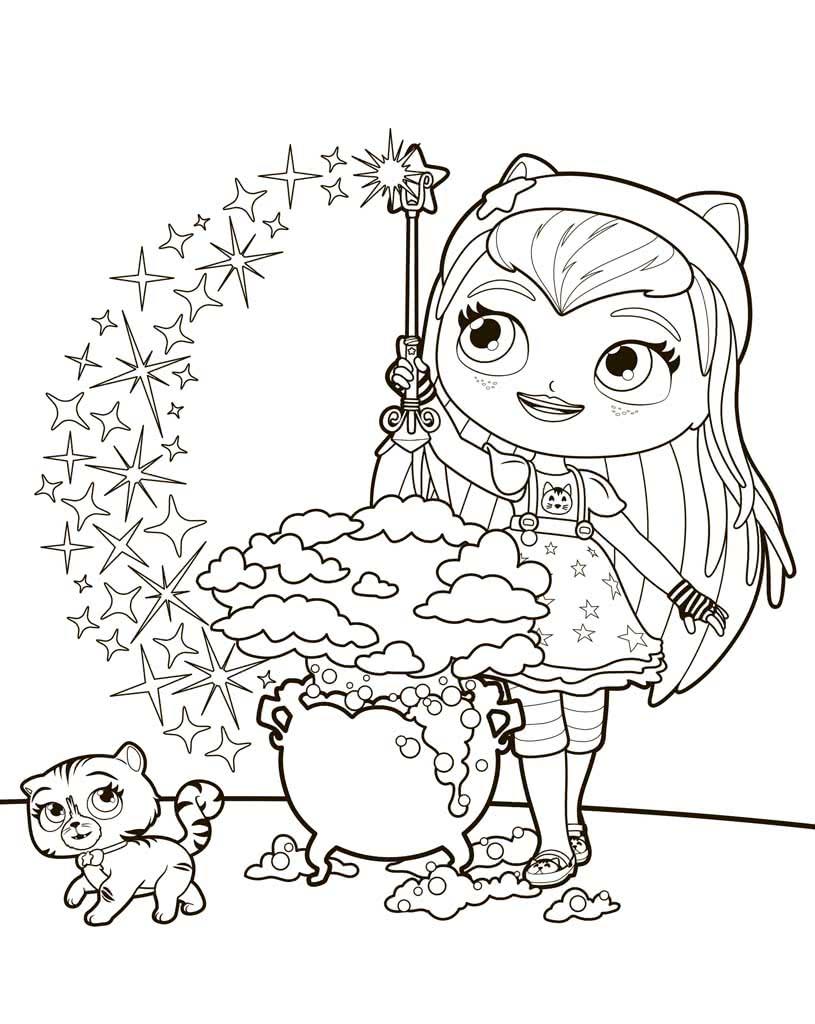 Раскраски Литтл Чармерс (Little Charmers)