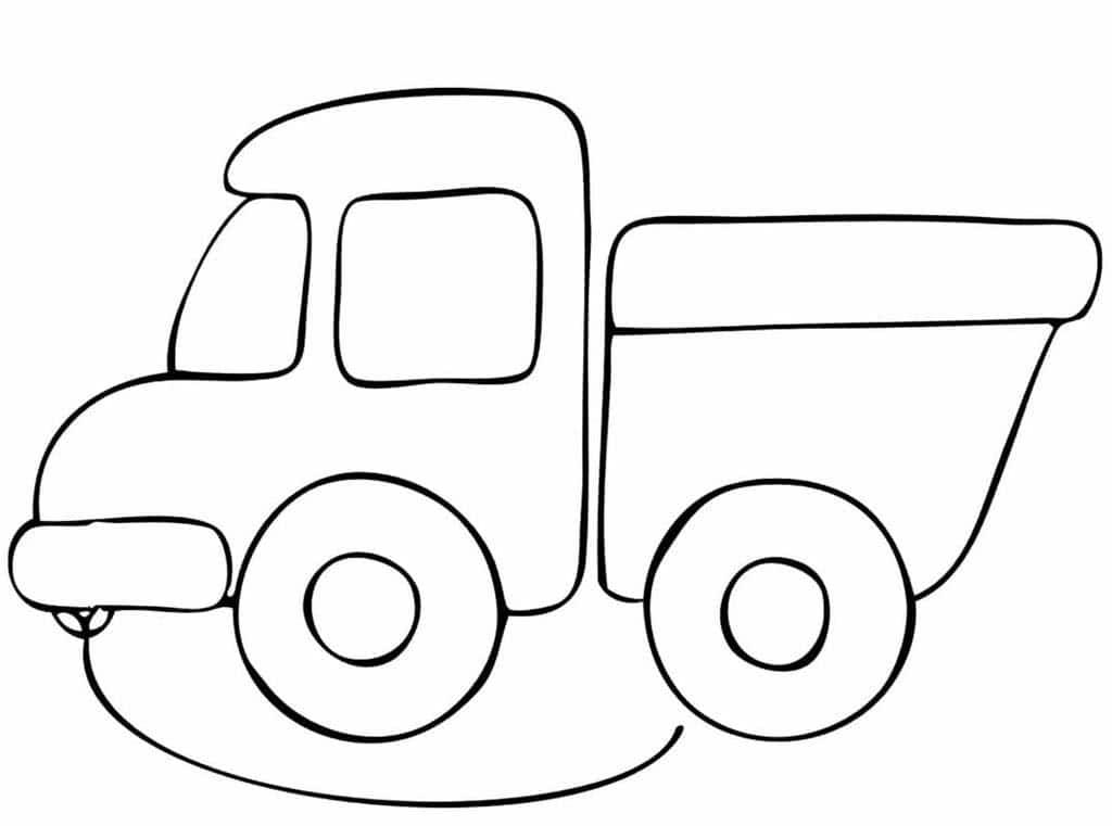 Картинки детские машинки раскраска