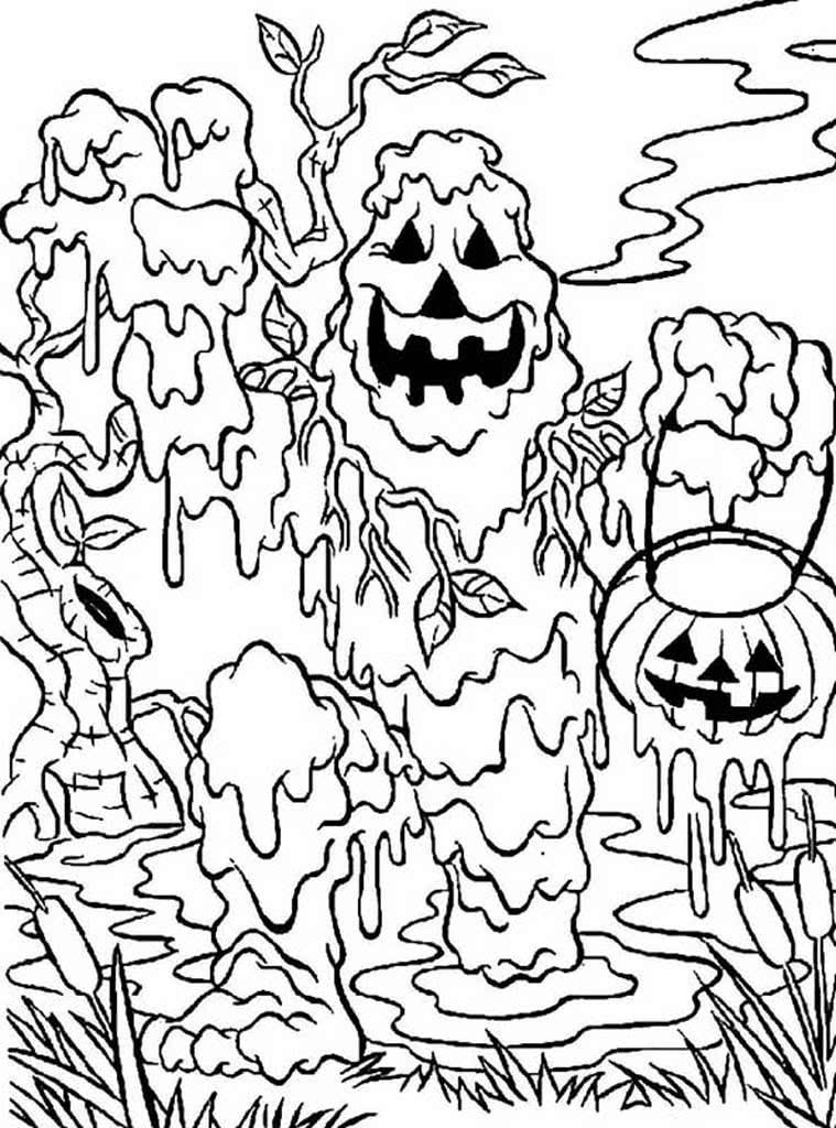 Раскраски Монстры