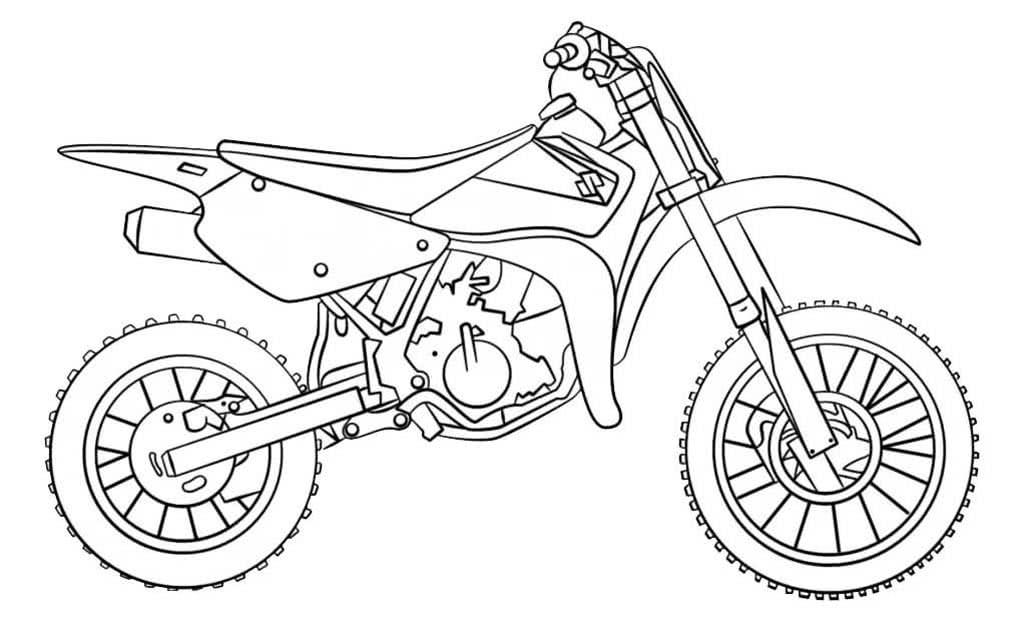 Картинки мотоциклов для раскрашивания, открытки