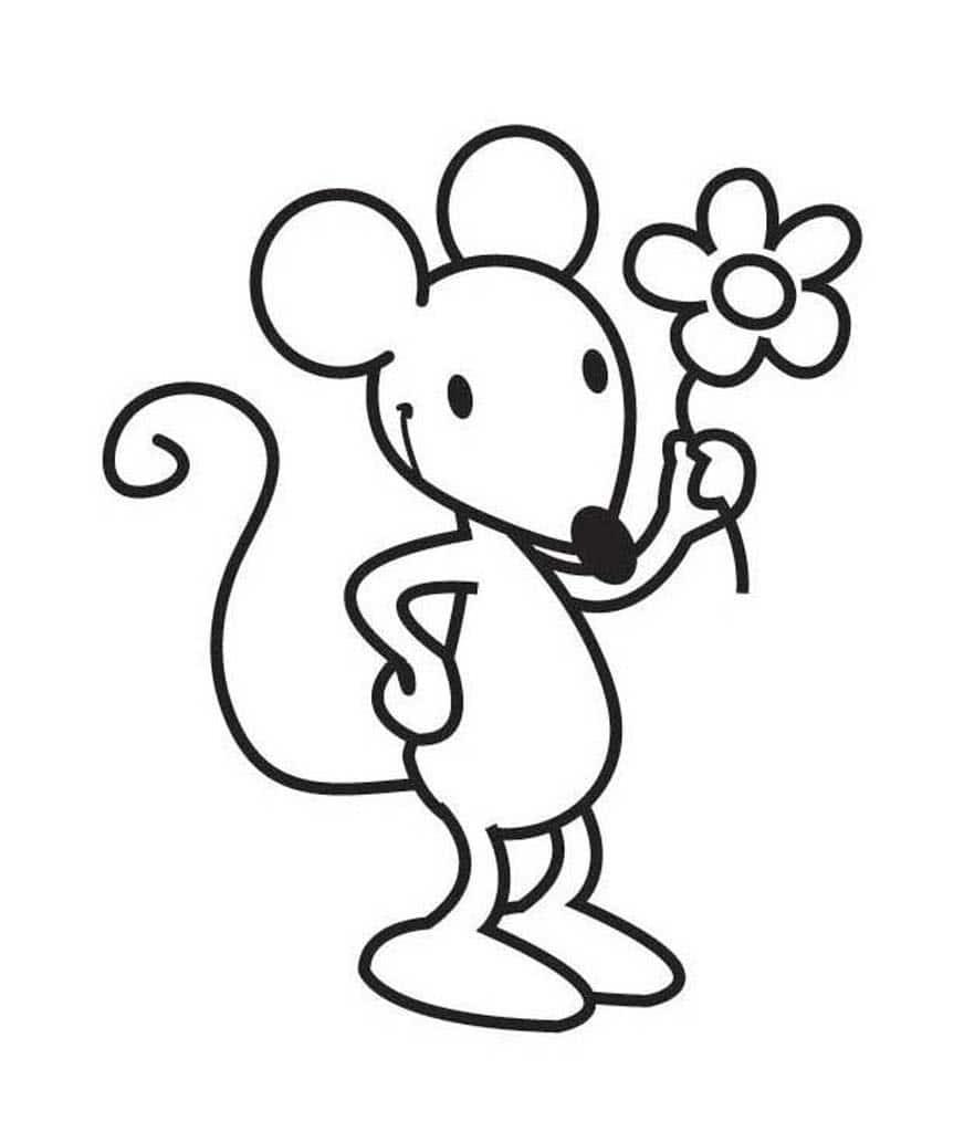 Мышь картинки раскраски, сериала волчонок