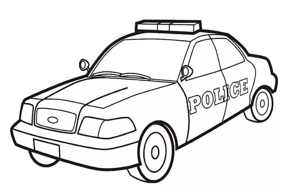 Raskraski Policejskie Mashiny Dlya Detej 3 10 Let 35 Raskrasok