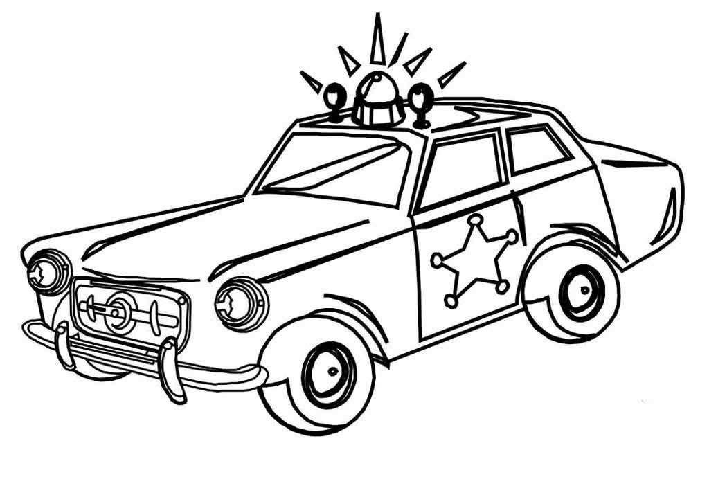 Раскраска автомобиль для детей