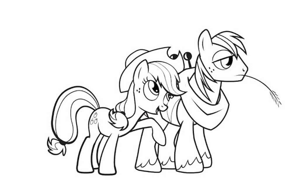 игры для девочек раскраски пони