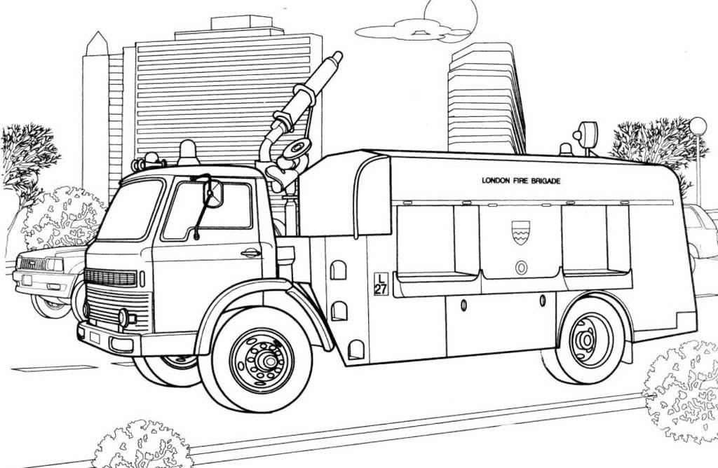 Пожарная техника для детей картинки с пояснением распечатать
