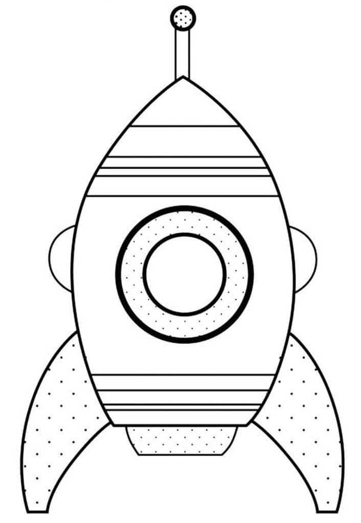 Раскраски Ракеты