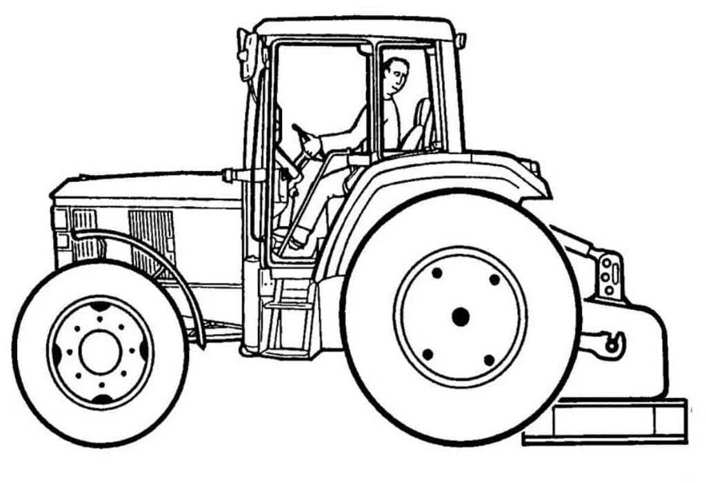 Трактор в картинках для мальчиков