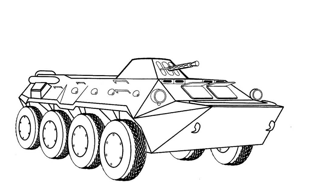 Раскраски военной техники для мальчиков распечатать
