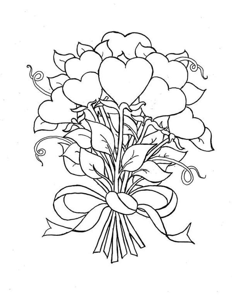 представляете себе цветы для открыток карандашом удалить