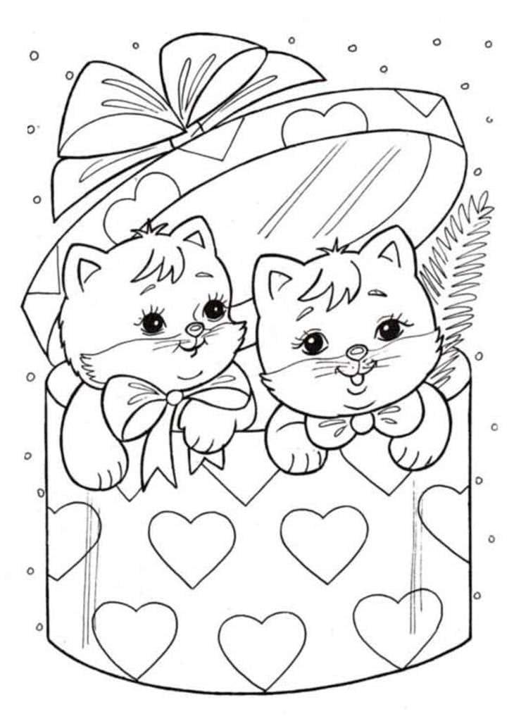 слове открытка с кошкой распечатать общем, сам