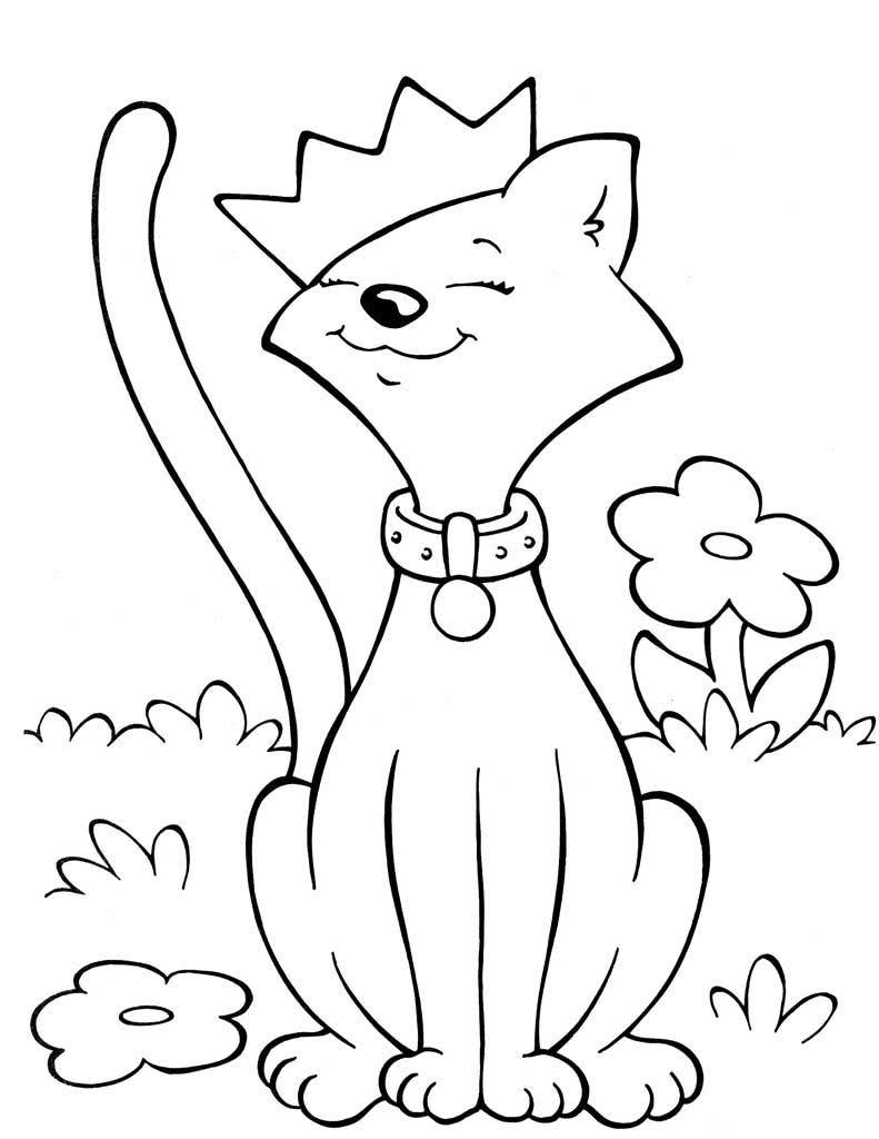 Февраля, картинки с котятами смешные раскраски