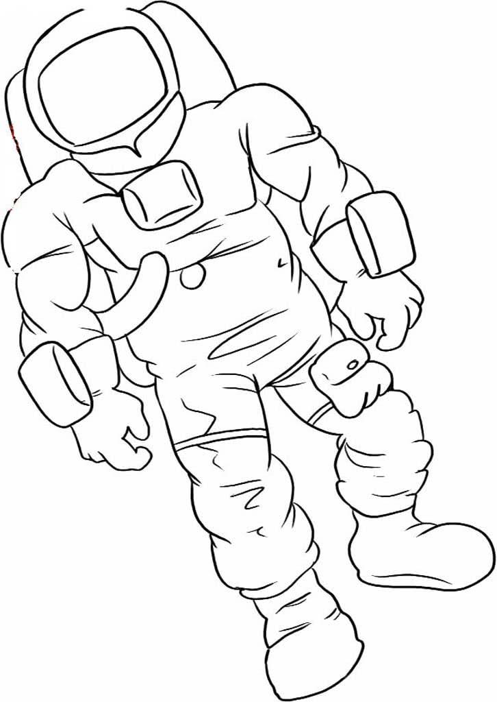 Раскраски Космонавты