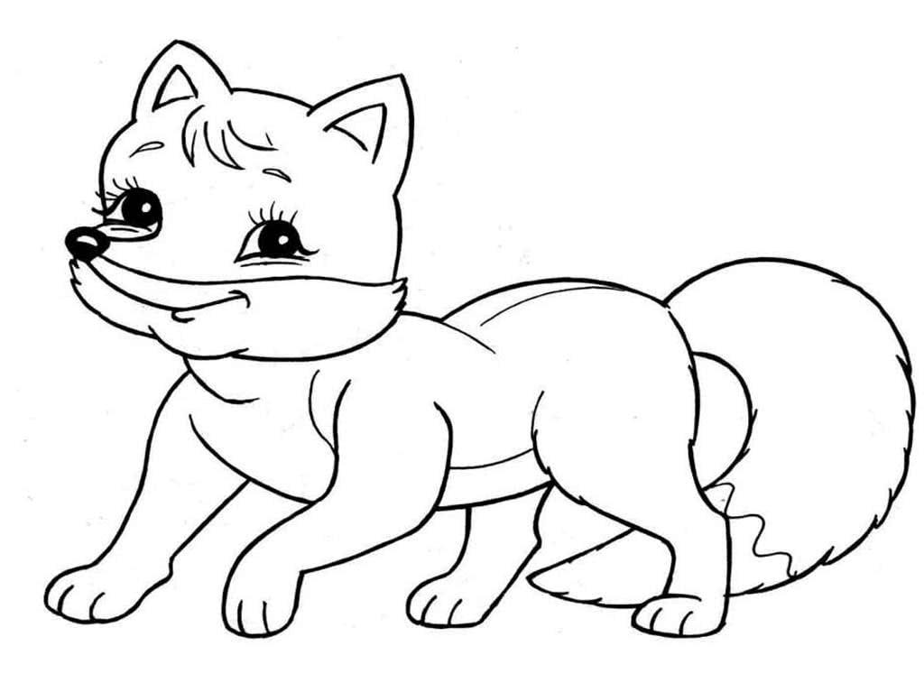 отличаются картинки с раскрасками животные чертой является