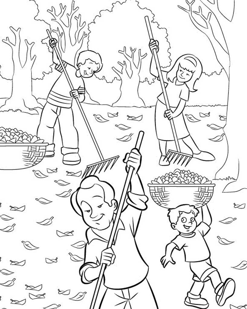 картинки о труде черно белые трав