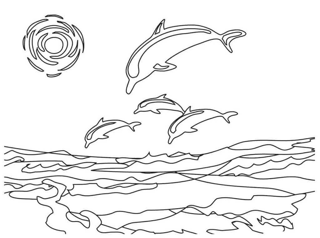 Последним рабочим, море картинки для детей нарисованные карандашом